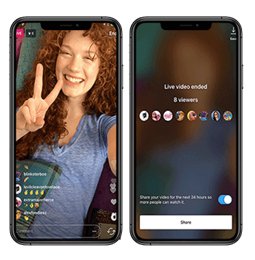 live video streaming applications