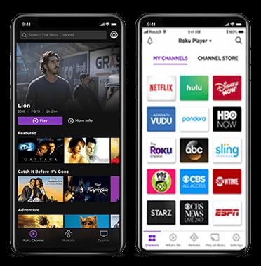 roku tv app development