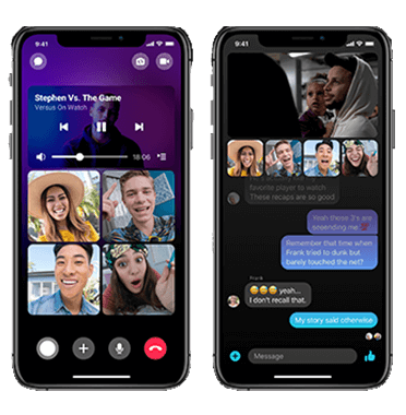 video chat & conferencing app