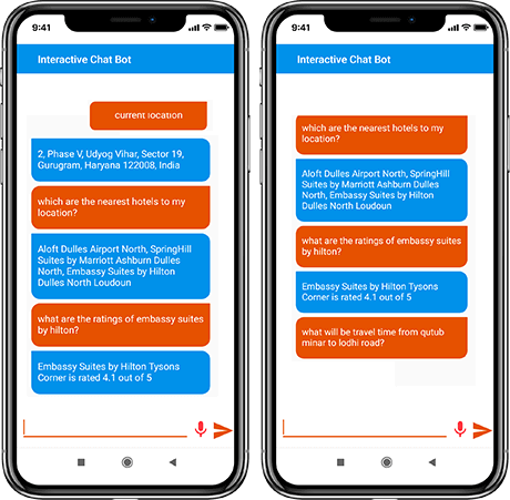 interactive chatbot