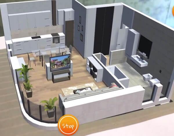 ar floor planner app