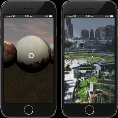 virtual reality 360 view app