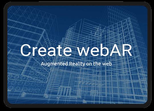 web based ar application