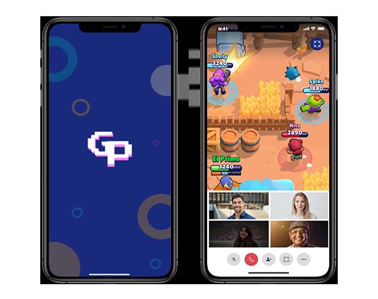 mobile social game app