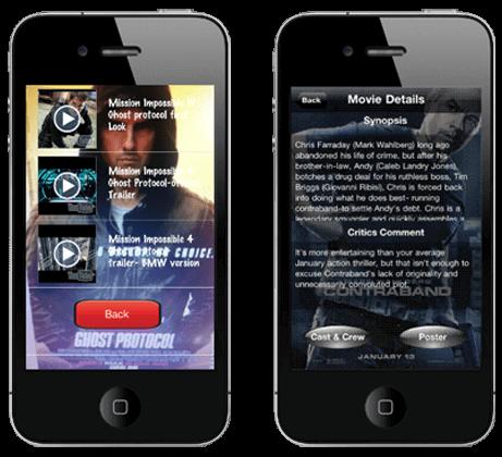 movie clips app