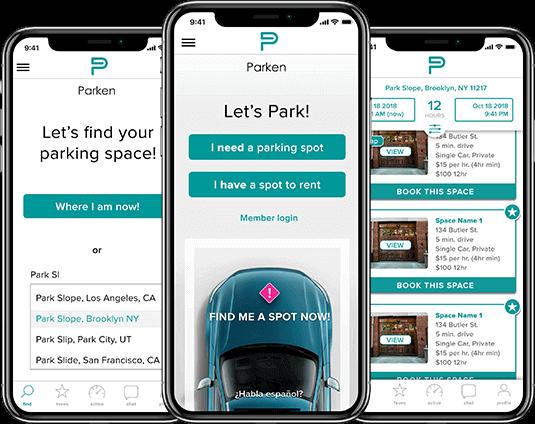 parking finder app