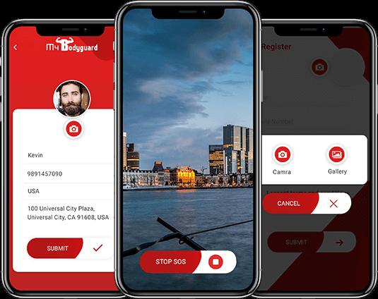 SOS based mobile app