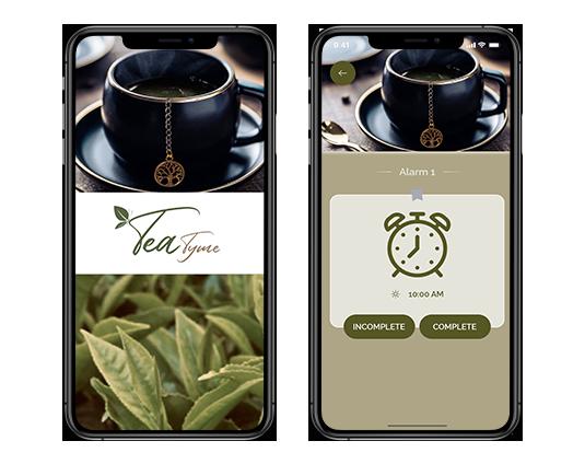 tea reminder app