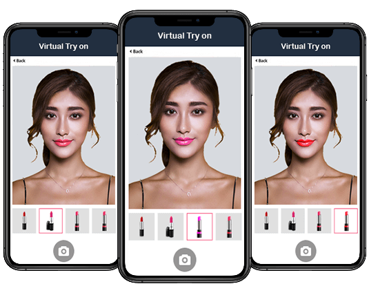 Virtual Try On Makeup Solution Ar