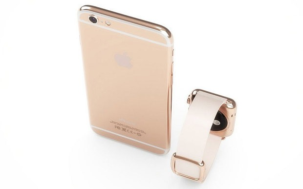 rosegold iphone 6s
