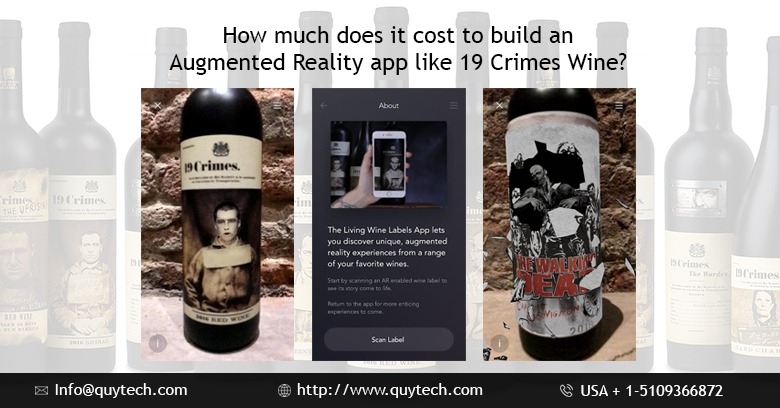 cost to develop an ar app like 19 crimes