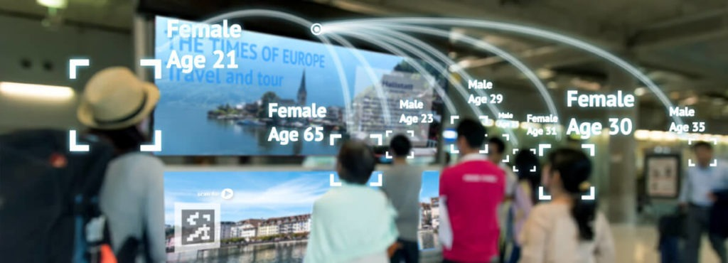 face recognition in advertisement