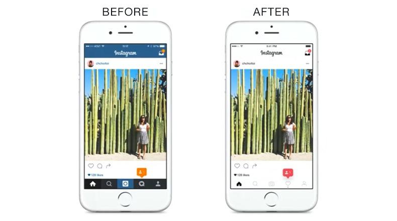 instagram redsign app