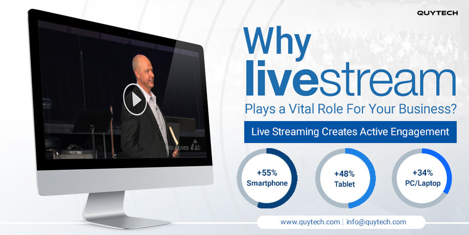 benefits of video live streaming
