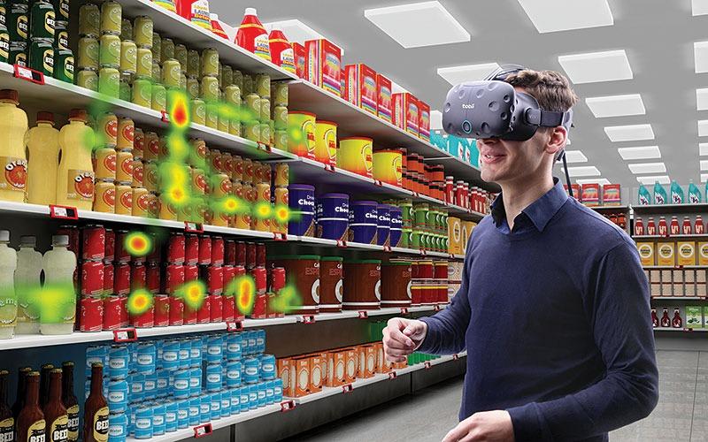 VR Retail raining