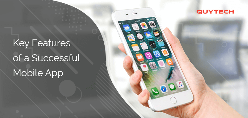 key features mobile app