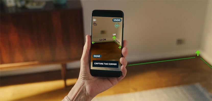 AR Tape measurement app