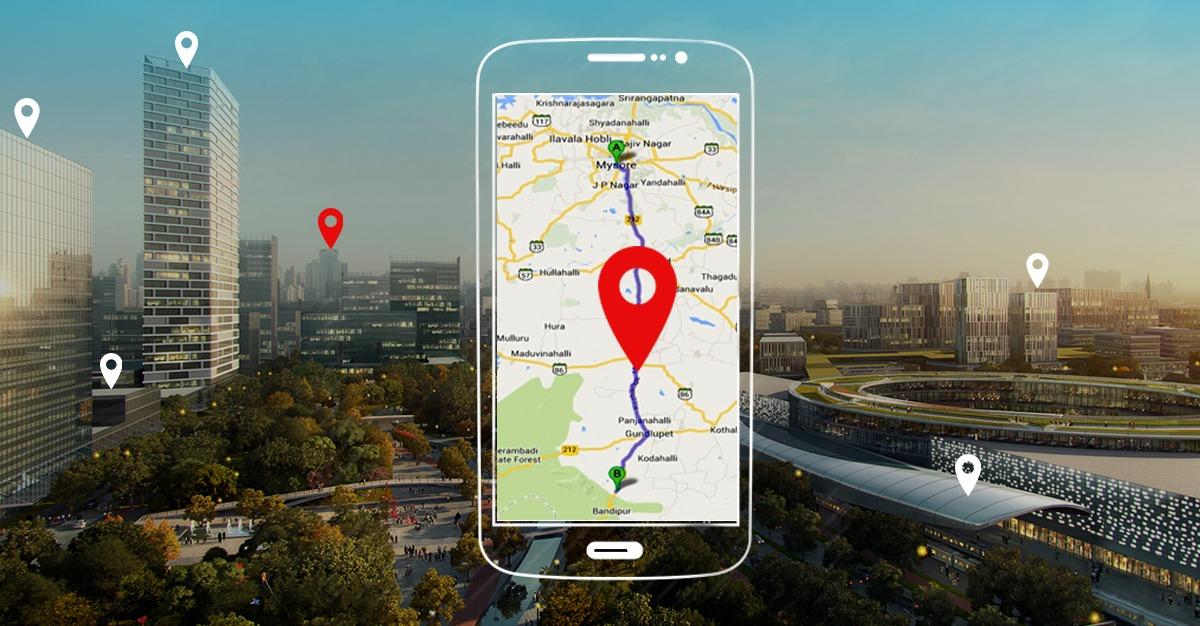 location based ar app