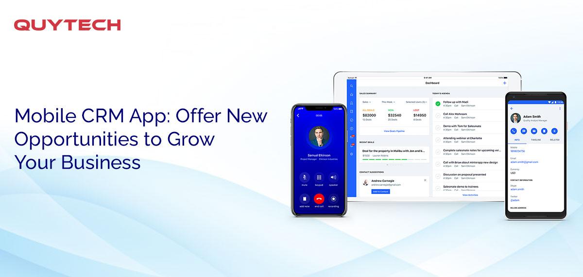 mobile crm app development