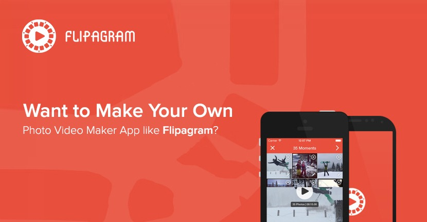 or Video maker apps like Flipagram