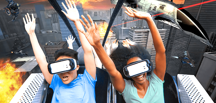VR in the entertainment sectors