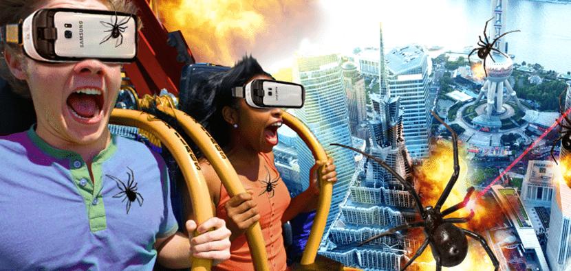 VR amusement parks