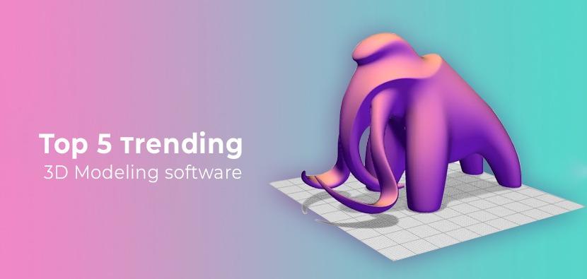3D Modeling, Animation & Rendering Software