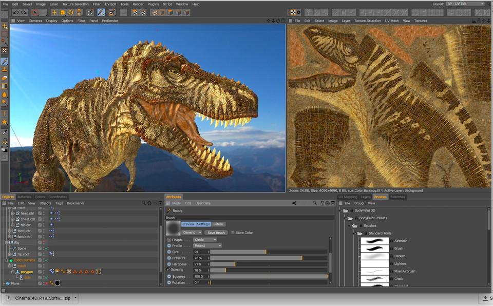 Cinema 4D - 3D Modeling, Animation & Rendering Software