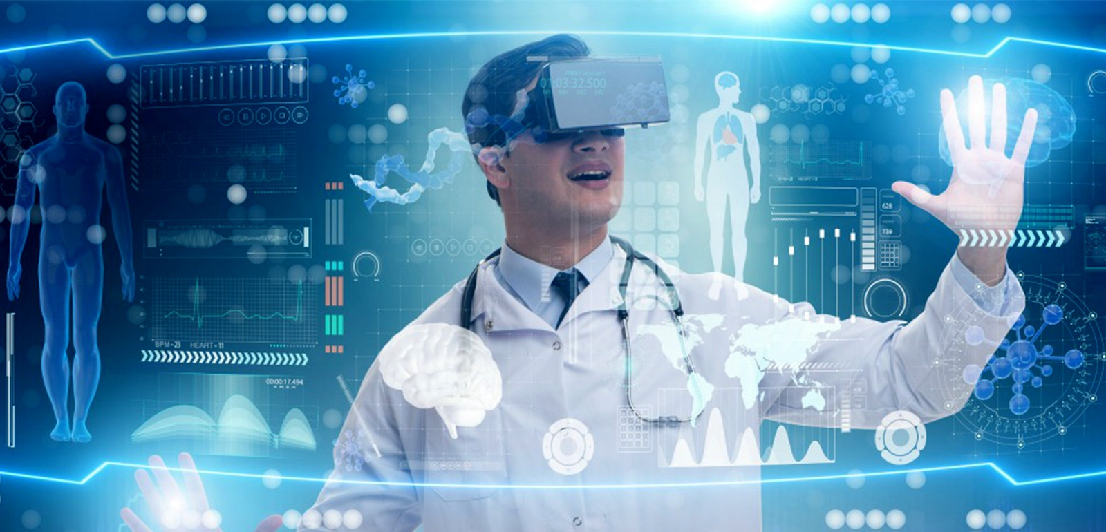 Benefits of AR/VR in healthcare