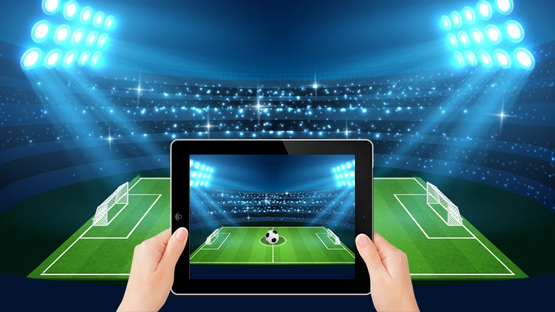 AR sports app