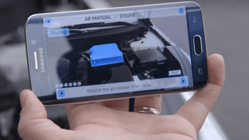 Augmented Reality in Automobiles