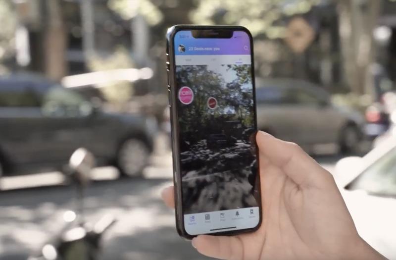 sweep  -  AR Shopping App