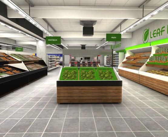 Virtual Reality Supermarket Shopping Experience