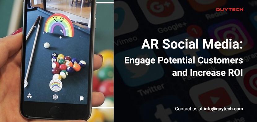 AR social media