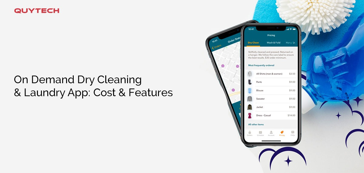on demand laundry app
