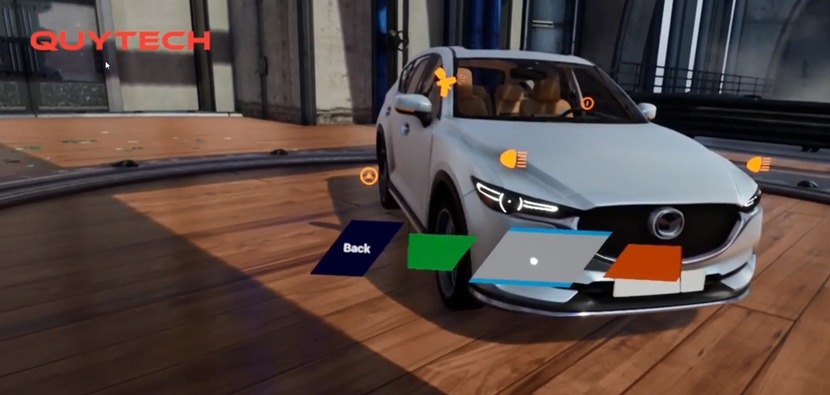 VR product configurator development