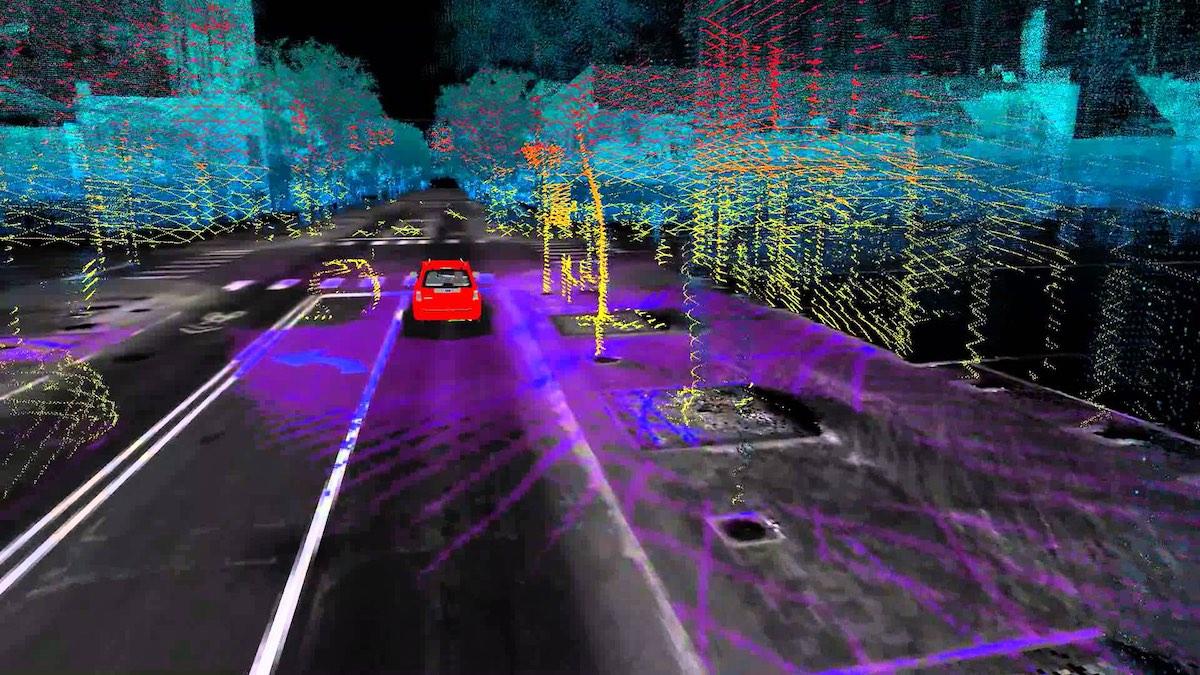 Monocular SLAM for Driverless Car