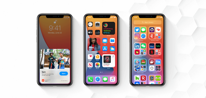 app libraries and widgets in iOS 14