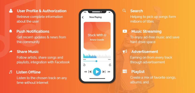Music app features
