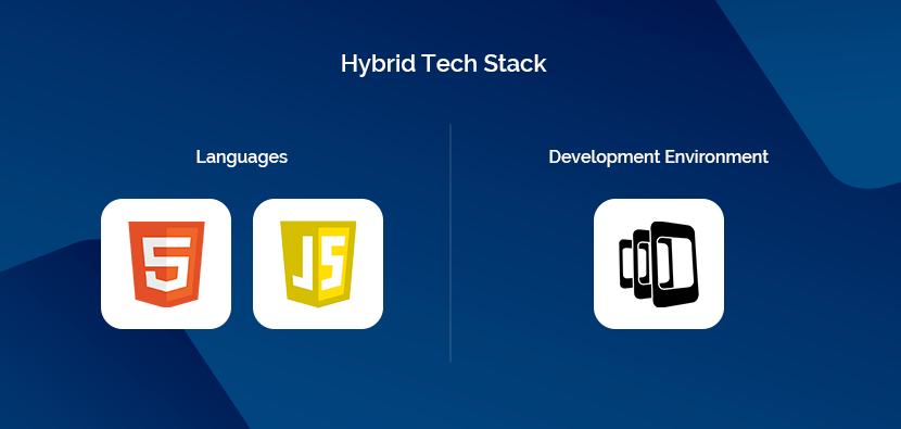 Hybrid tech stack