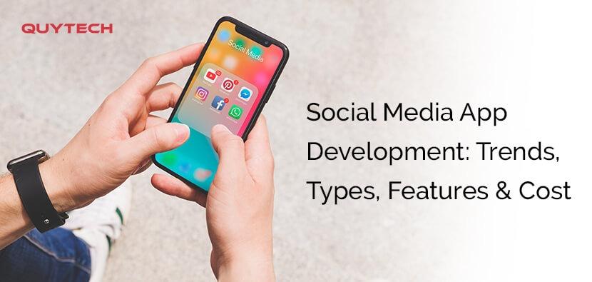 social media app development