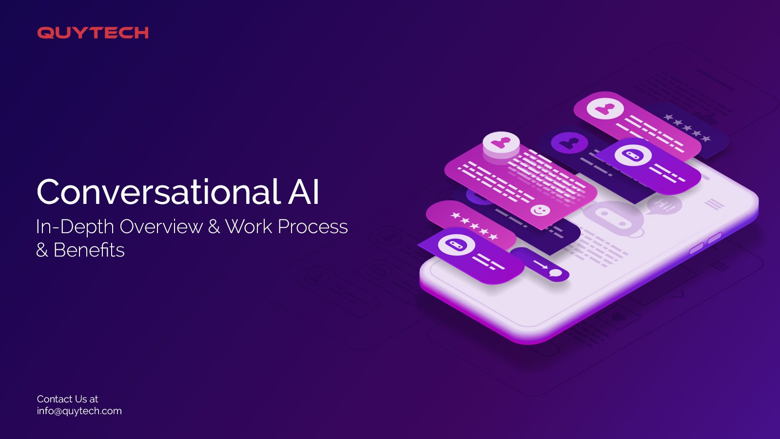 A Quick Guide to Conversational AI and its Working