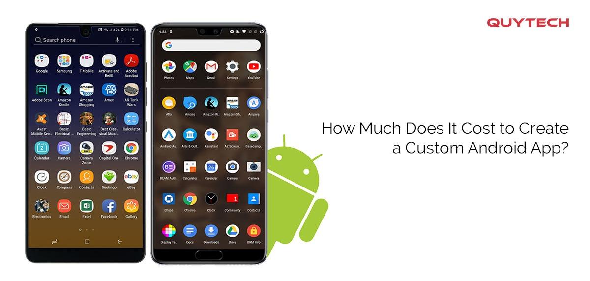 Custom Android App Development Cost