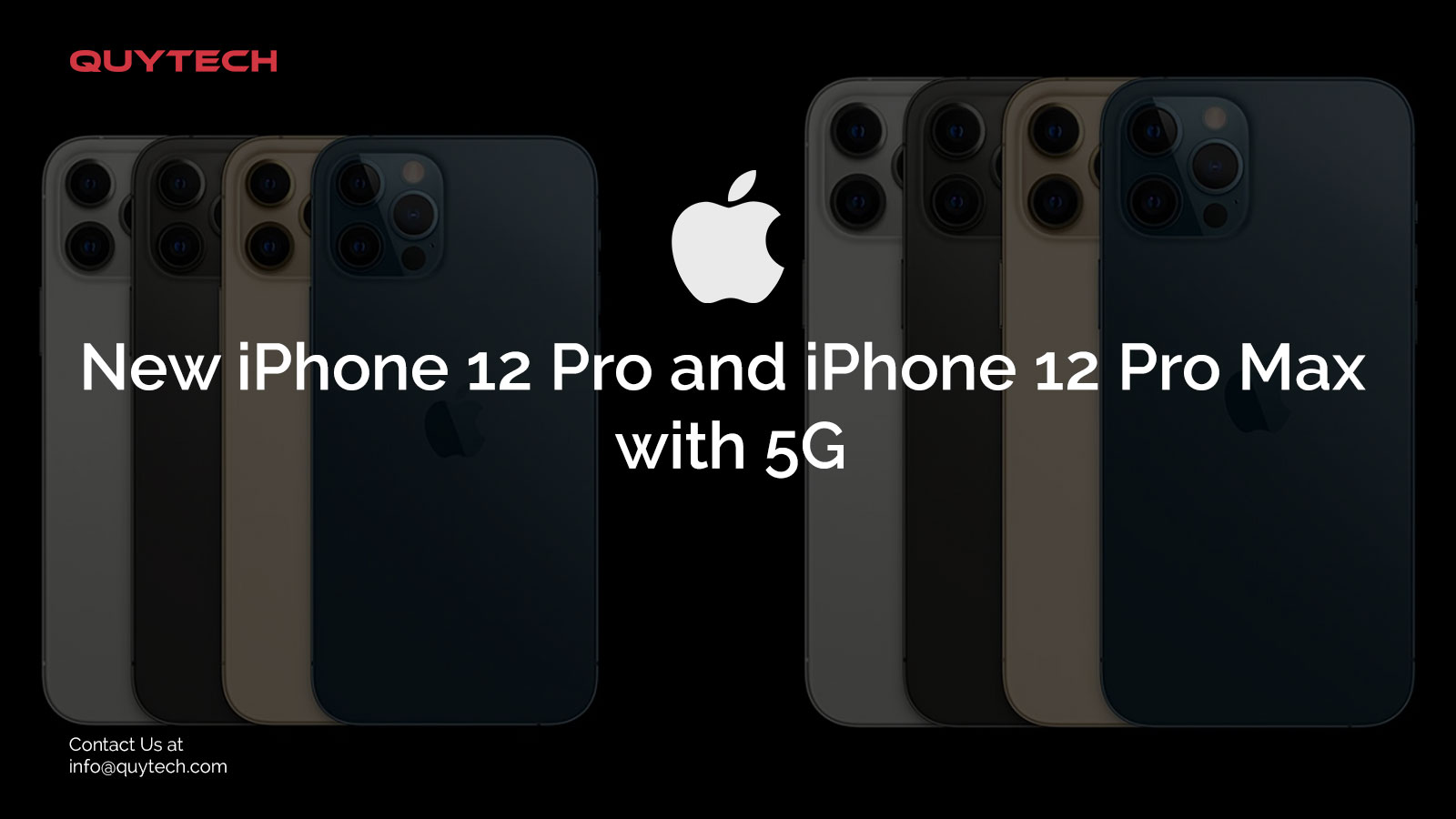 New iphone 12 pro and iphone 12 pro max with 5G
