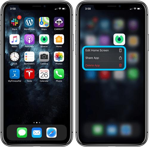 Declutter your App