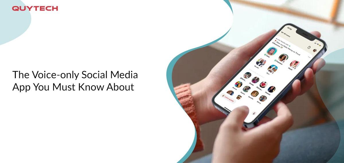 voice only social media app