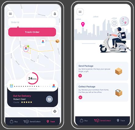 last mile logistic app