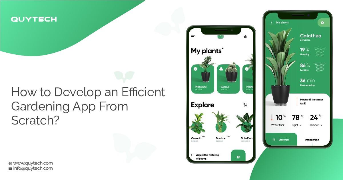 Top Gardening App: How to Develop an Efficient Gardening App From Scratch?