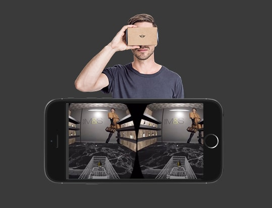 VIRTUAL REALITY APP FOR ECOMMERCE