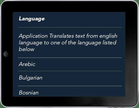 English To Italian Translator Google: Augmented Reality Mobile Apps